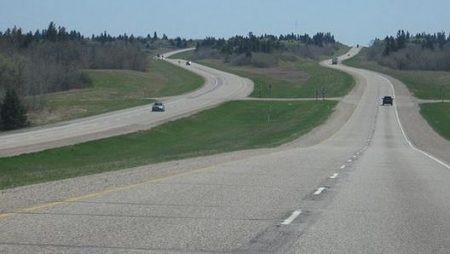 MANITOBA RAISES SPEED LIMIT ON TRANS-CANADA HIGHWAY